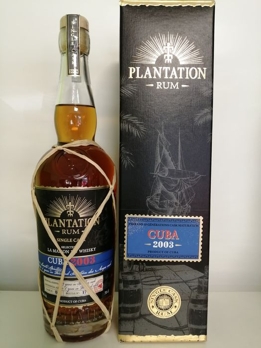 Sancti Spiritus 2003 Plantation - Single Cask 59.8% Vol. - b. 2018 - 70cl