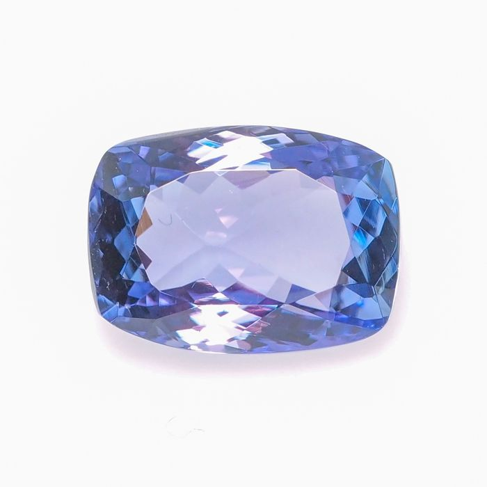 Violetish blue Tanzanite - 2.77 ct