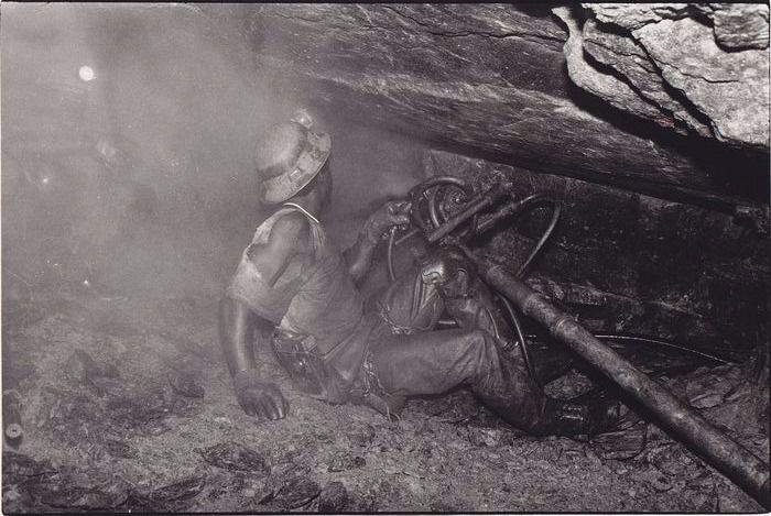 Abbas (1944-2018)/ Gamma - Gold miners in South Africa, 1988