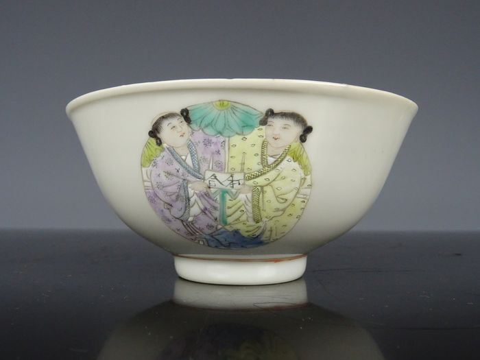 Bowl - Porcelain - China - Early 20th century