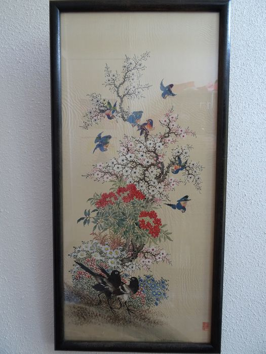Painting (1) - Silk - 王承勳 - China - Early 20th century