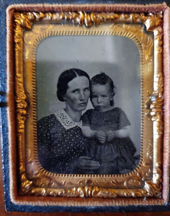Unknown - Two original american ambrotypes