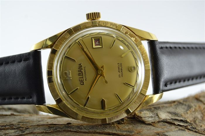 "Delbana - Automatic - ""NO RESERVE PRICE"" - Felsa 692 - Men - 1970-1979"