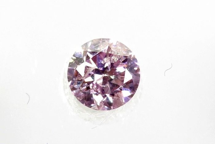 Diamante - 0.04 ct - Brillante - I2 - * NO RESERVE PRICE *