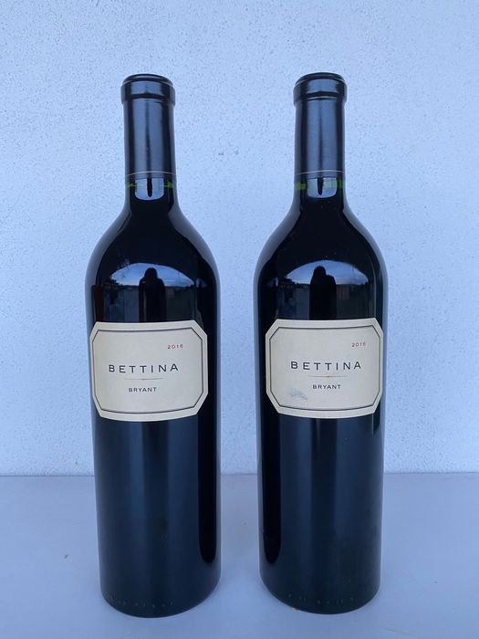 2016 Bryant Family Vineyard 'Bettina' Proprietary Red - Napa Valley - 2 Bouteilles (0,75 L)