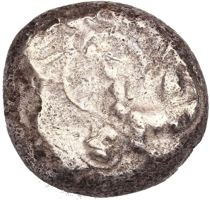Pamphylia Aspendos 465-430 BC AR Stater Silver VFXF