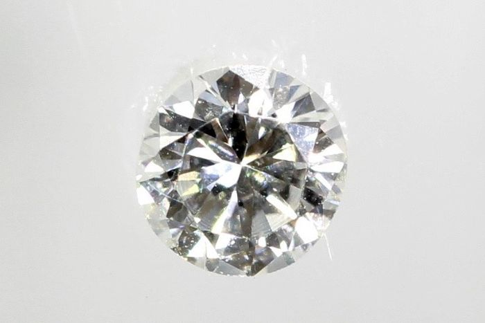 Diamant - 0.07 ct - Brillant - E - VVS2  - * NO RESERVE PRICE *