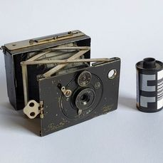 Contessa Nettel Recto miniatur 4,5x6cm folding plate camera