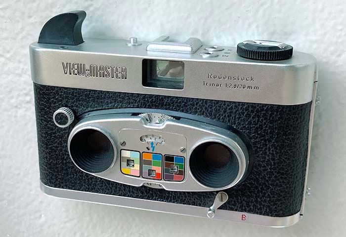 Sawyer's (View-Master) Viewmaster Stereo Color Camera( 'Mark II')