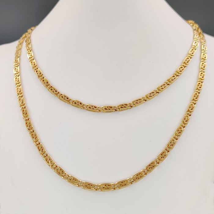 Oms - 18 kt. Yellow gold - Necklace