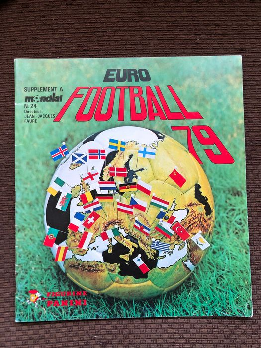 Panini - Euro Football 79 - Leeg album - 1979