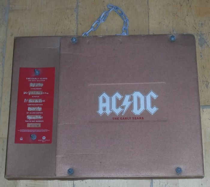 AC/DC - The Early Years  - Limitiertes Box-Set - 1990
