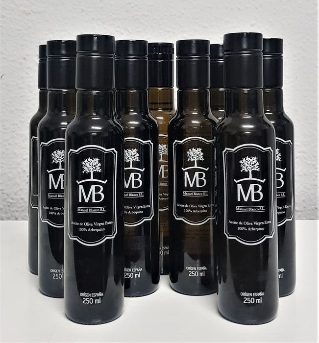 MB Manuel Blanco - Olio d'oliva - 10 bottles (250ml)