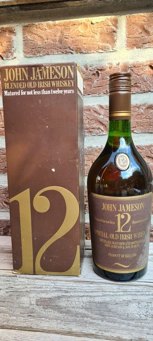 John Jameson  12 years old - Duty Free - Original bottling - b. Années 1970 - 26 2/3 oz (75cl)