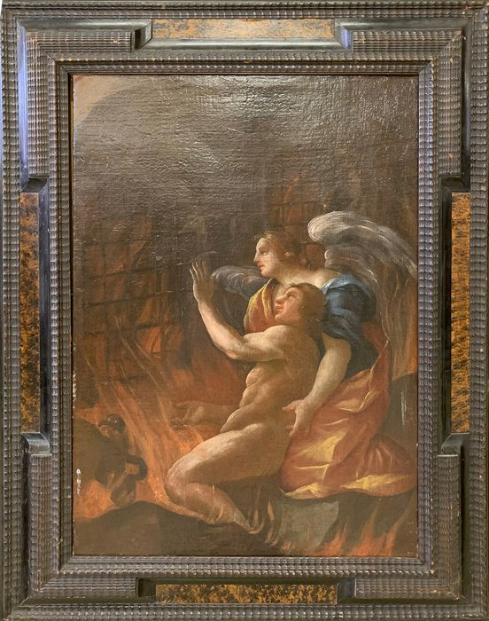 Painting (1) - oil painting on canvas - Second half 17th century