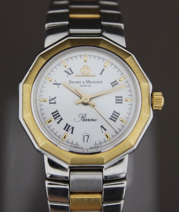 Baume & Mercier - Riviera-Gold/Steel - 5231 - Donna - 1990-1999