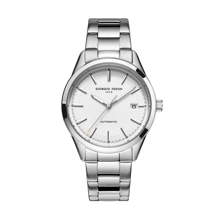 """Giorgio Fedon - Automatic PCA White Dial Stainless Steel Bracelet - GFCA005 """"NO RESERVE PRICE"""" - Heren - 2011-heden"""
