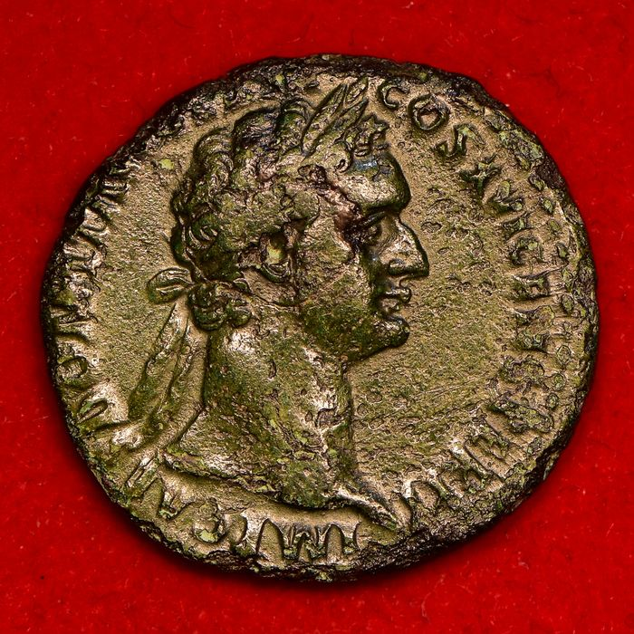 Roman Empire - AE As, Domitian (AD 81-96), ca. AD 92-94. Rome mint - Copper