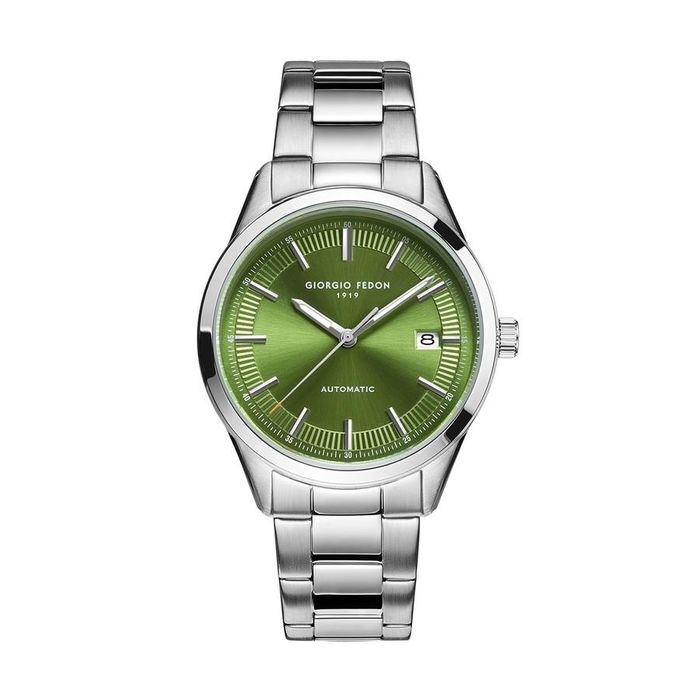 "Giorgio Fedon - Automatic PCA Green Dial Stainless Steel Bracelet - GFCA007 ""NO RESERVE PRICE"" - Heren - 2011-heden"
