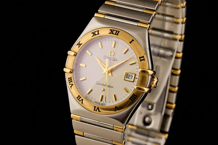 """Omega - Constellation Gold/Steel - """"NO RESERVE PRICE"""" - Dames - 2000-2010"""