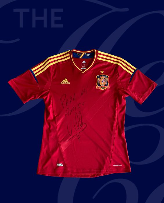 Spain National Football Team - Campionato europeo di calcio - David Villa - 2012 - Maglietta/e