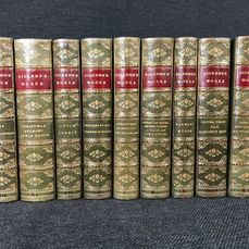 Charles Dickens - The Works [17 titles in 9 volumes] - 1865