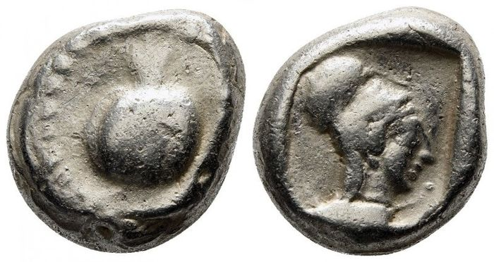 Greece (ancient) - Pamphylia. Side. AR Stater, circa 450-430 BC