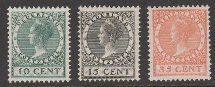 Pays-Bas 1924 - Exhibition - NVPH 136/138