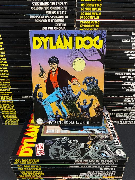 Dylan Dog nn. 1/402 - Serie completa - Da edicola - Softcover - First edition - (1986/2020)