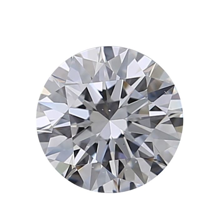 1 pcs Diamant - 0.25 ct - Rund - G - VS2