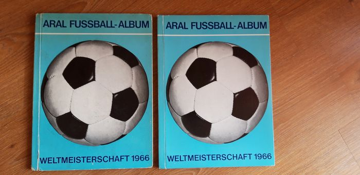 Variant Panini - Bergmann - World Cup 1966 - 2 albums complets