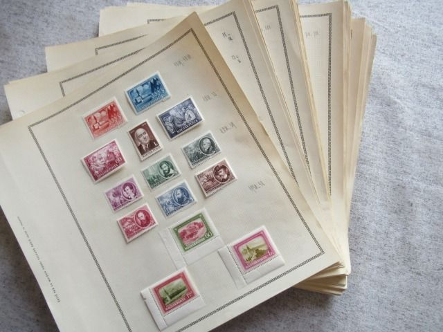 Hungary - Advanced collection of stamps