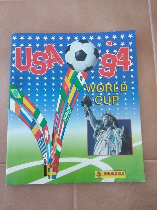 Panini - World Cup USA 94 - Album complet