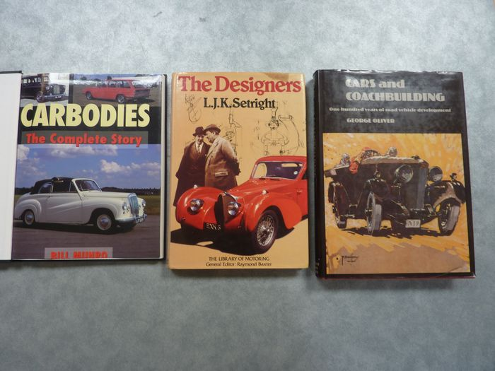 Bücher - The Designers - Cars and Coachbuilding - Carbodies , The complete story - Autodesign