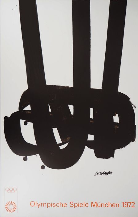 Pierre Soulages - Lithographie n°29