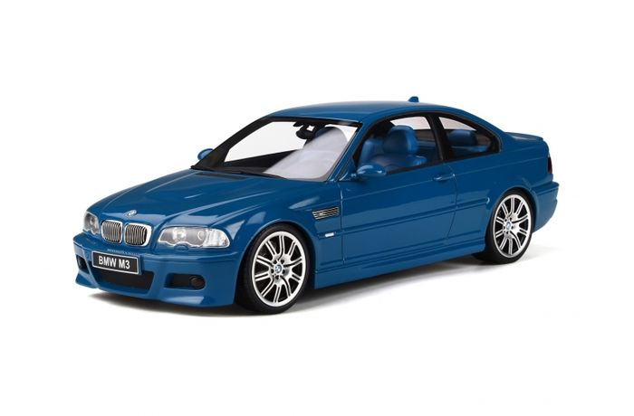 Otto Mobile - 1:18 - Bmw - E46 M3 Coupe Laguna Seca NEW Extremely RARE