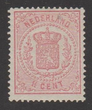 Pays-Bas 1875 - National coat of arms - NVPH 16D