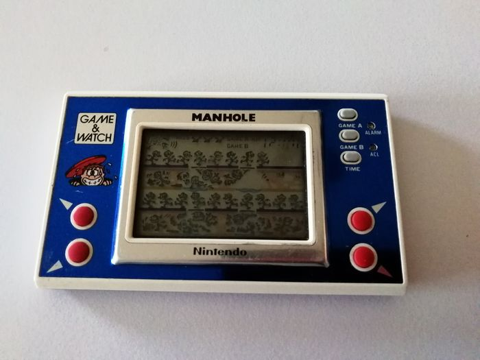 1 Nintendo Game & Watch - Manhole - Palmare - Senza scatola originale