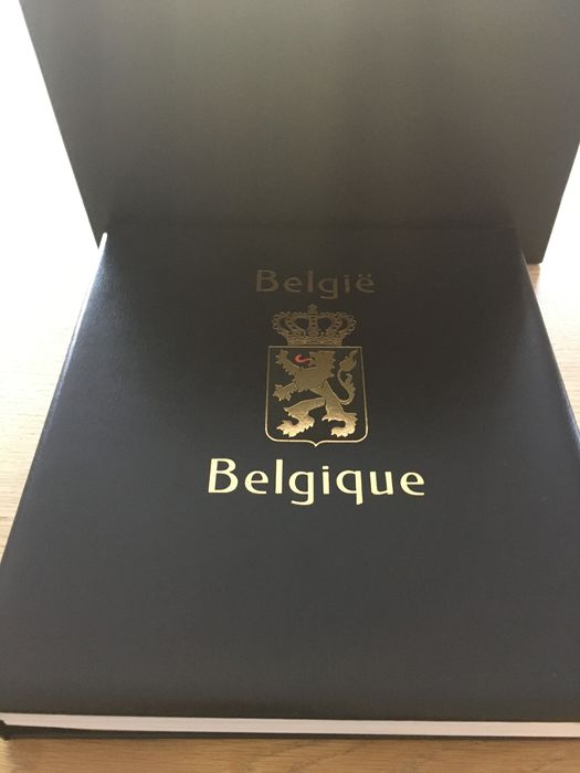 Belgien 1995/2001 - Complete collection in a DAVO LX album V with extras