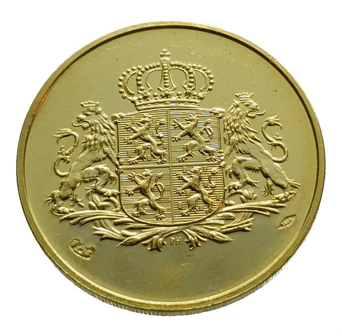 Luxembourg - Medal / 40 Francs 1985 - Charlotte - Or
