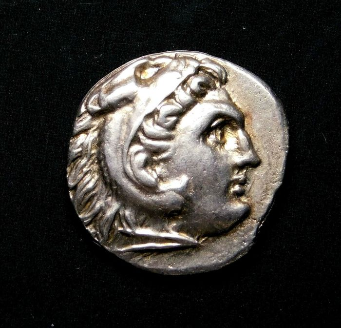 Greece (ancient) - Drachm Alexander the Great (336-323 BC) Early Posthumous Issue of Lampsakos. Struck circa 310-301 BC. - Silver