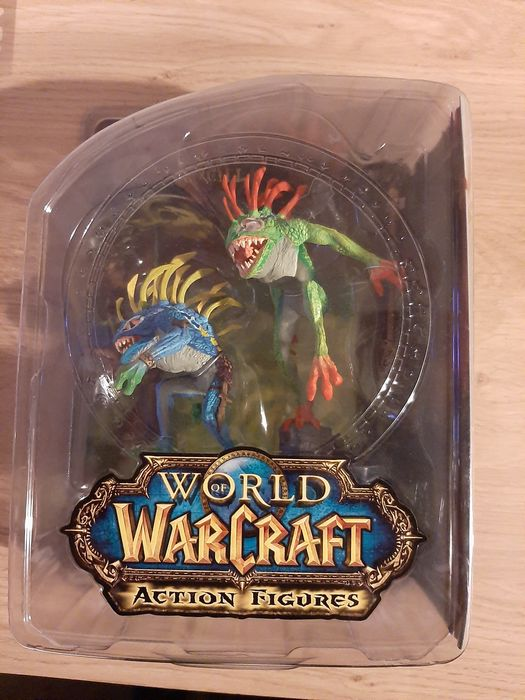 1 World of Warcraft Action figures Series 4 Fish-eye & Gibbergill  - Figurine(s)