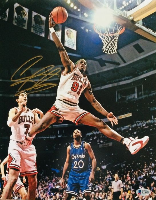 Chicago Bulls - NBA Basketball - Dennis Rodman - Foto