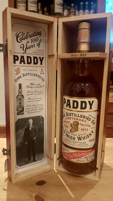 Paddy 7 years old 100th anniversary - b. 2013 - 70cl
