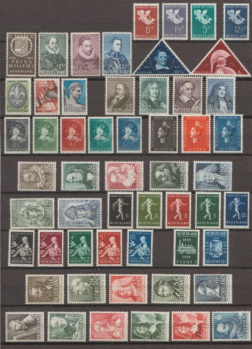 Pays-Bas 1933/1940 - Selection