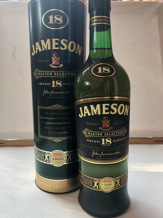 Jameson 18 years old Master Selection - Original bottling - 700ml