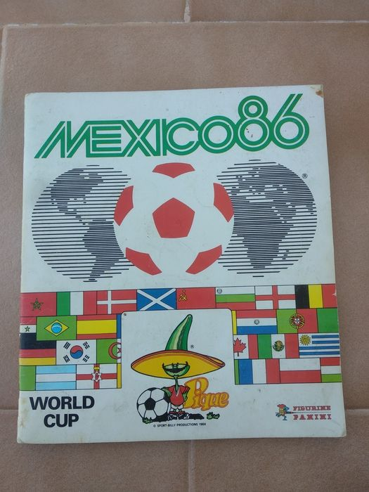 Panini - World Cup Mexico 86 - Album complet