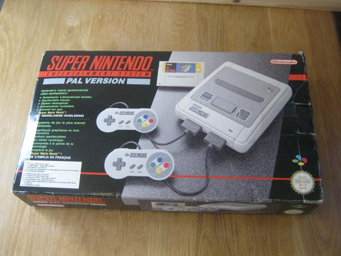 Nintendo Snes - console plus super mario world. - In originele verpakking