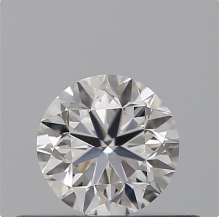 1 pcs Diamant - 0.50 ct - Brillant - F - VS1