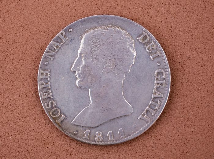Spain - Madrid - Jose Napoleon - 20 Reales 1811  - Silver